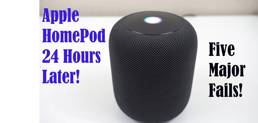 Homepod failure