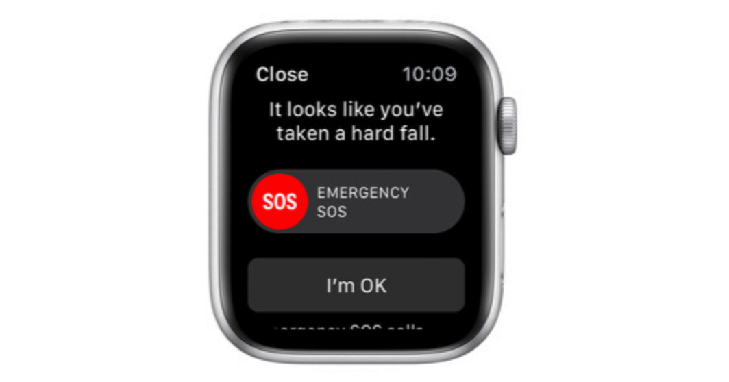first apple watch fall detection