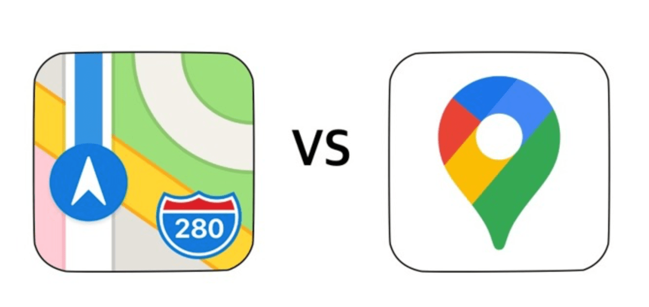 Apple Maps vs. Google Maps