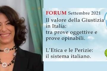 Dr.ssa Rosa Maria Di Maggio, Geologo forense e Docente INPEF