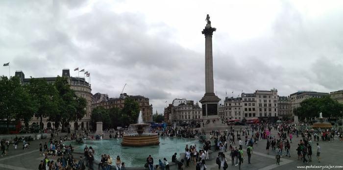 Trafalgar Square Londres en 3 días