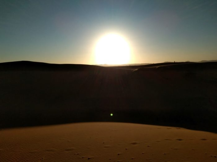 atardecer en el desierto Marruecos