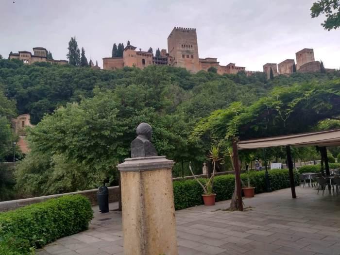 Granada paseo de los tristes