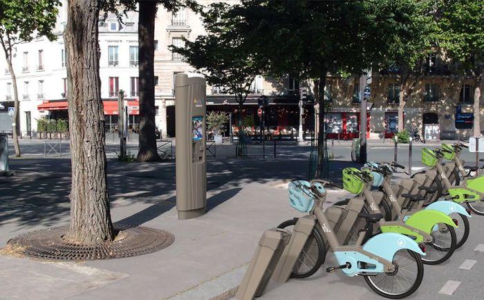 alquilar una bicicleta en París vélib