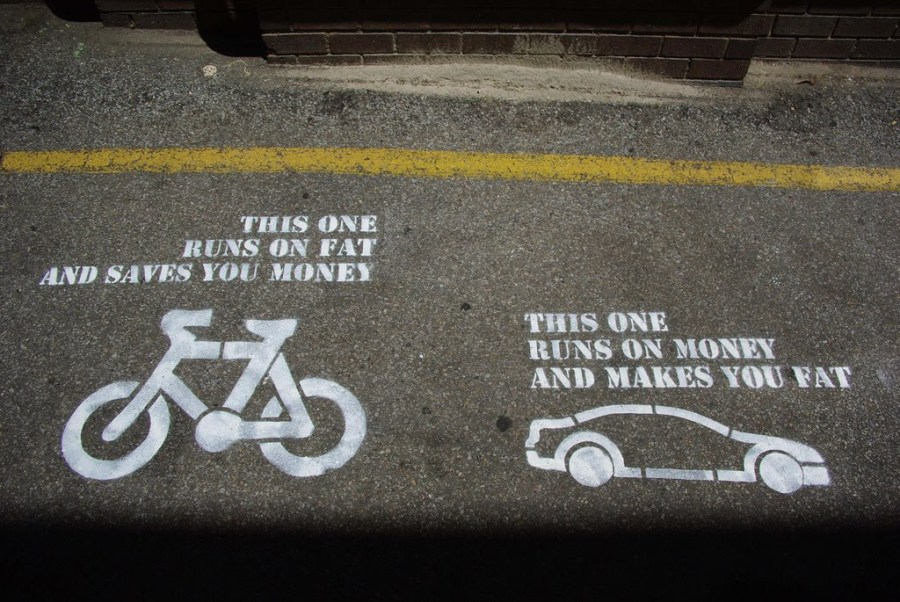 Unterschied Fahrrad & Auto