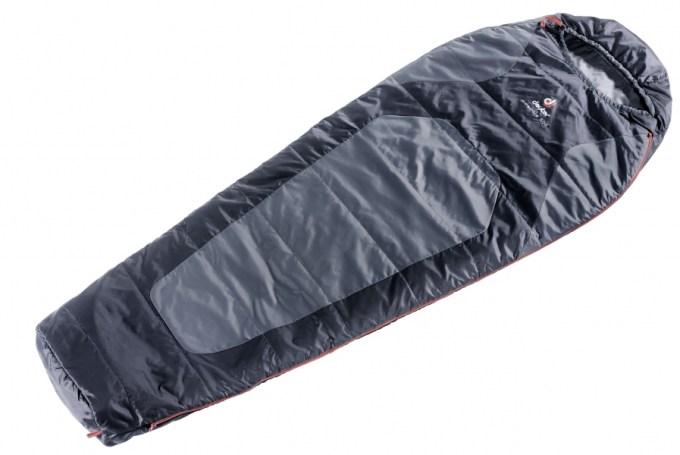 Saco de Dormir Deuter Dream Lite 500 - Preto com Cinza
