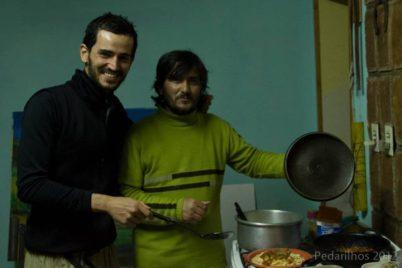 Delicioso Jantar na casa do Sandro!