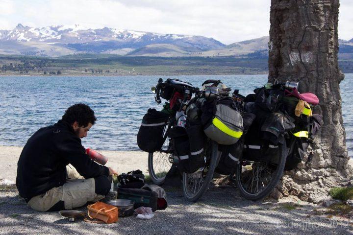 Ruta 7 Lagos Chile de bike