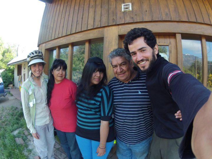 Família do Oscar, nos recebendo como parentes em sua casa!