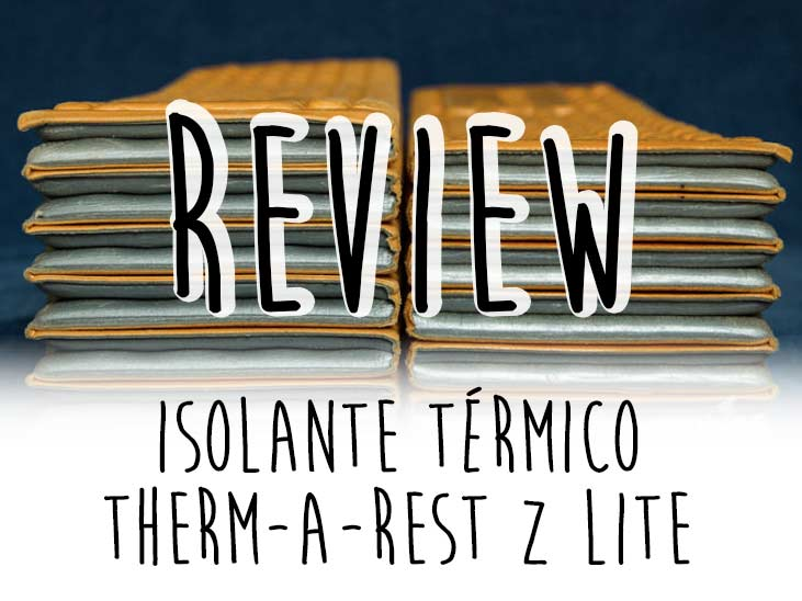 review isolante térmico therm a rest z lite