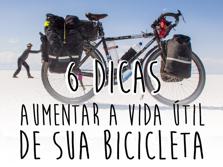 aumentar a vida útil de sua bicicleta