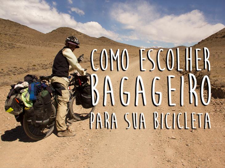 Como escolher bagageiro para sua bicicleta de cicloturismo