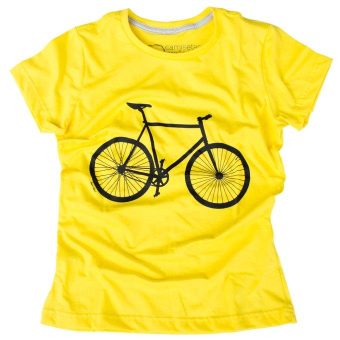 Camiseta Bicicleta Feminina