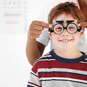 Learn about a few common eye problems that affect children.