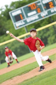 It is vital to protect your little one's eyes while they play a sport.