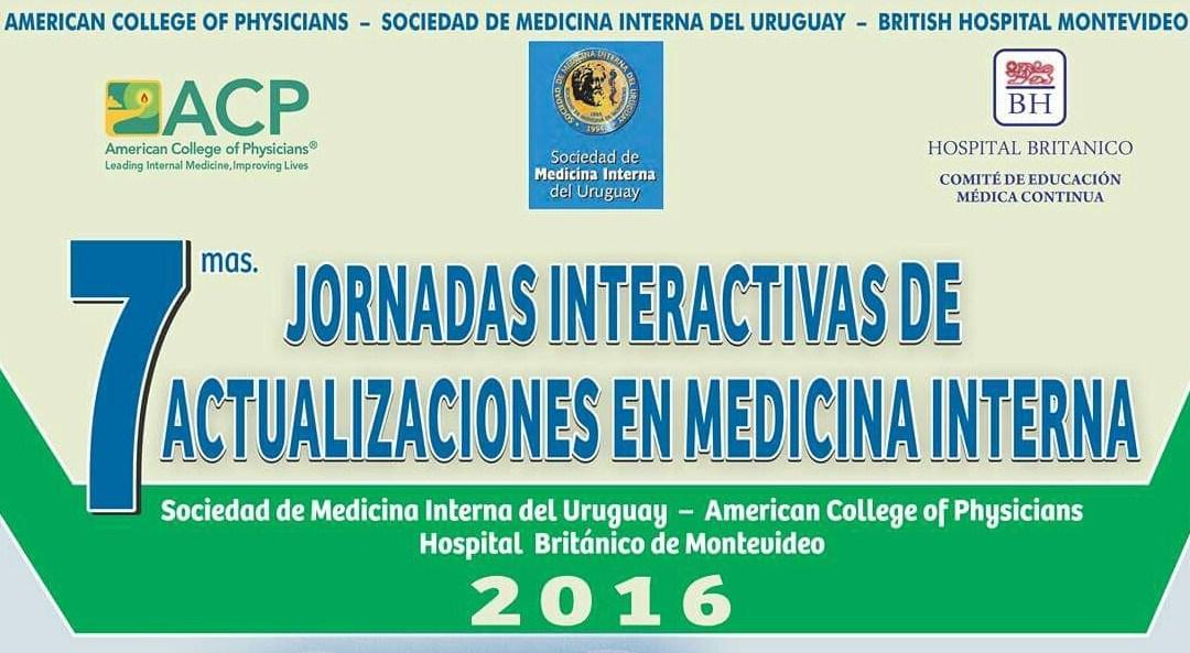 7mas JORNADAS INTERACTIVAS DE ACTUALIZACIONES EN MEDICINA INTERNA