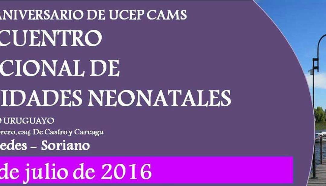 ENCUENTRO NACIONAL DE UNIDADES NEONATALES, MERCEDES, 23 JULIO 2016