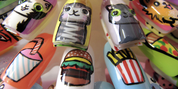 Trend Alert Down Under Nail Art Pedicure Sydney Melbourne I Scream Nails Prinsesfo Images