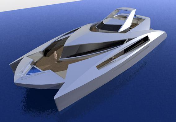 DesignIndustria 95 Power Catamarans