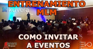 Como invitar a eventos MLM