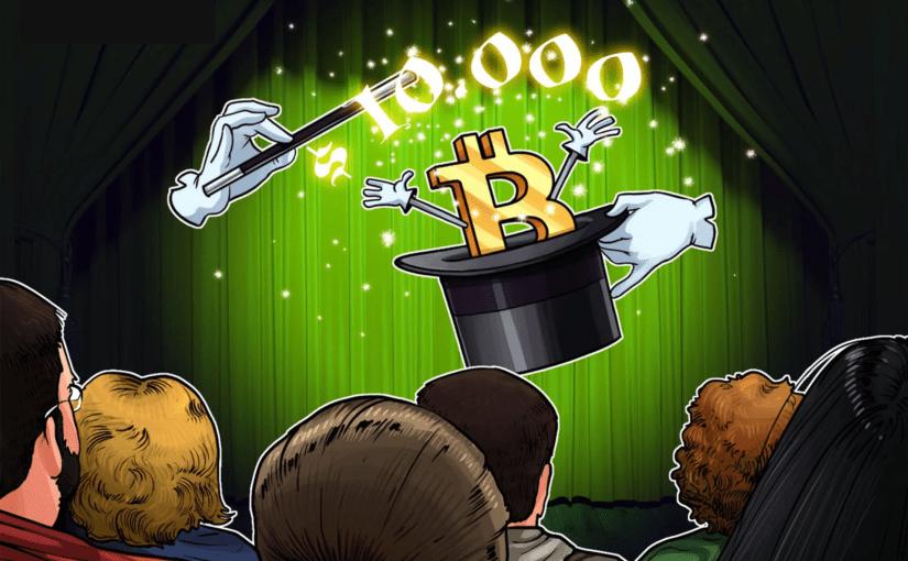 Bitcoin ya supera la barrera de 10 mil dolares y apenas iniciamos el 2,020