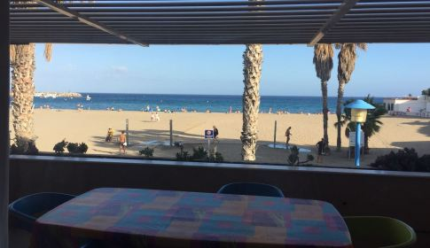 Con vistas a la playa