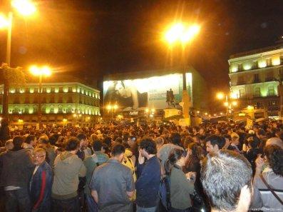 manifestacion madrid hoy - Reflexiones con soluciones a la crisis...
