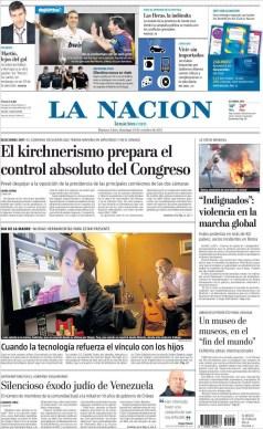 Argentina - La Nación - 15O