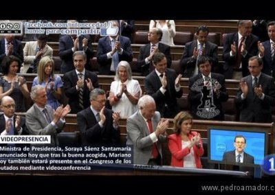 Comunicación Congreso Rajoy