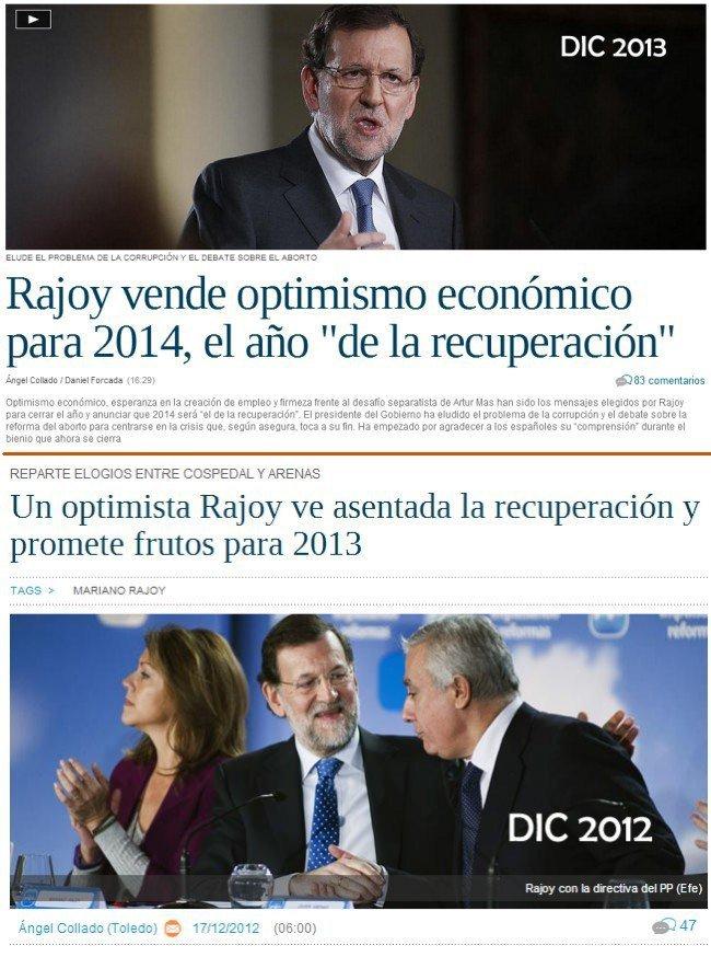 Promesas Rajoy