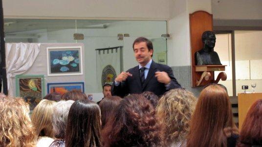 Fotos conferencia Motivación Elbio Fernández Uruguay 5