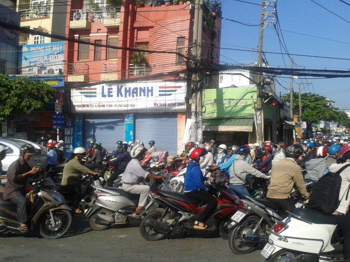 VIETNAM Hochiminh trafico