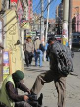 BOLIVIA-Calles de la Paz