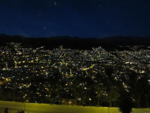 BOLIVIA La Paz de noche