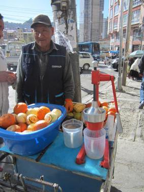 BOLIVIA-La Paz