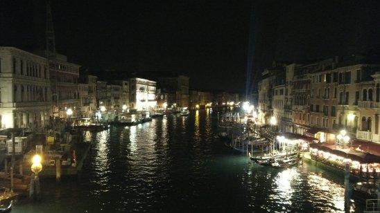VENECIA Puente Rialto noche