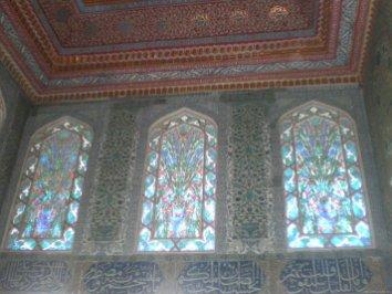 TURQUIA Estambul Vidrieras palacio