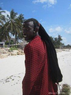 TANZANIA-Jambiani masai falso