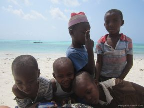 TANZANIA-Jambiani niños