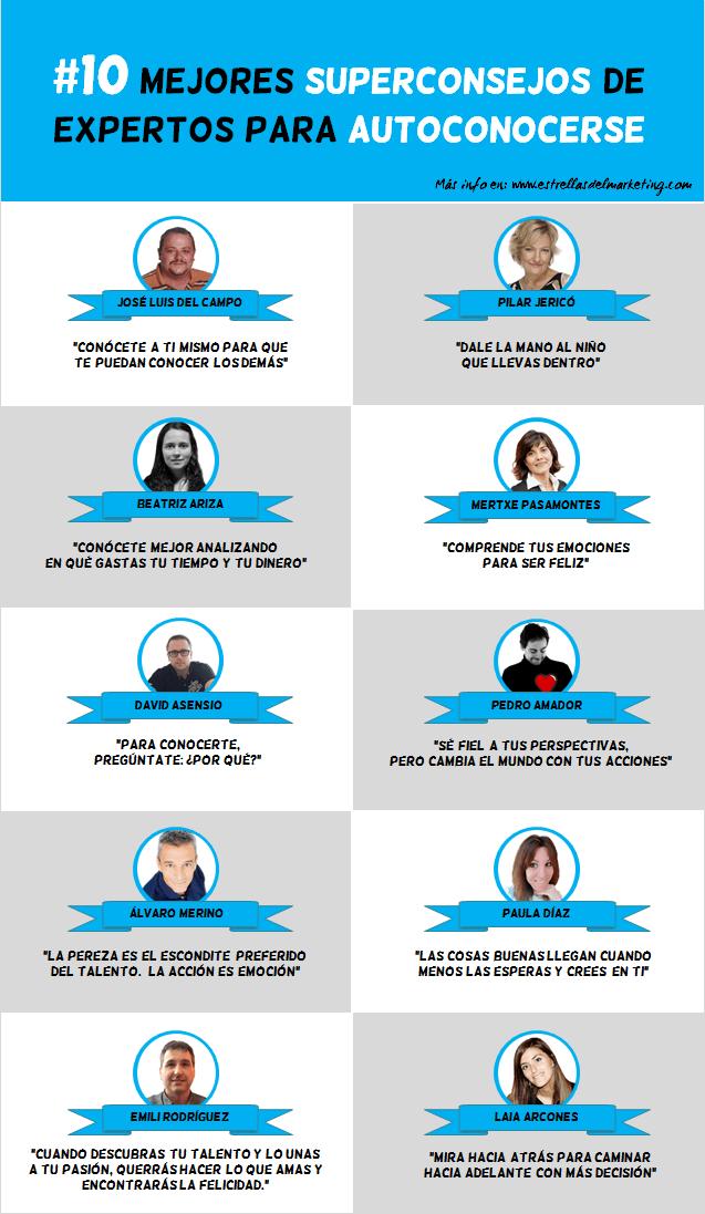 Todos 10 Superconsejos de Expertos para Autoconocerse