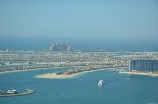 View from Marriot Dubai Marina - The Palm