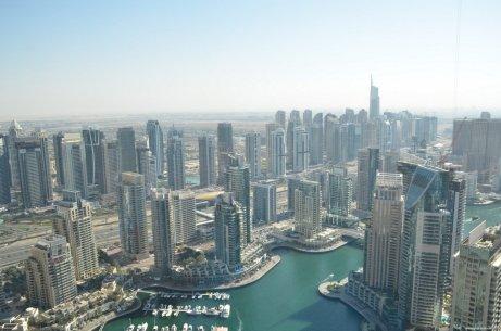 View from Marriot Dubai Marina