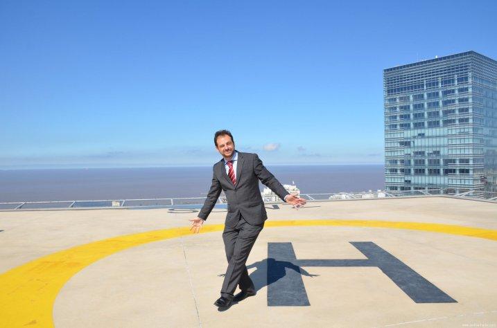 Primer Helipuerto Evelado Internacional (WTC Montevideo FreeZone)