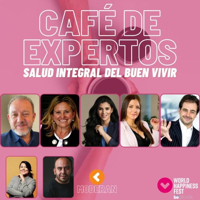Café de expertos conferencistas - Semana de la felicidad