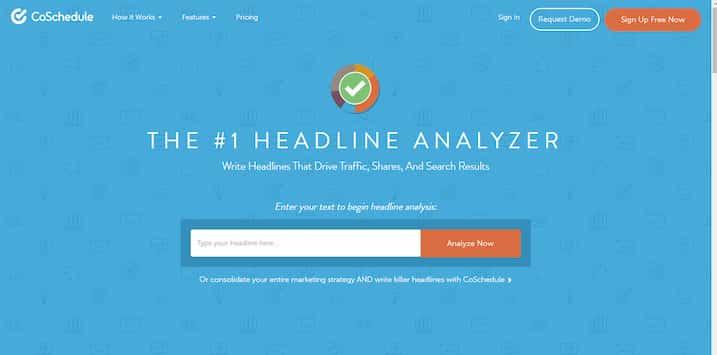 Headline Analyzer, herramienta de Growth Hacking