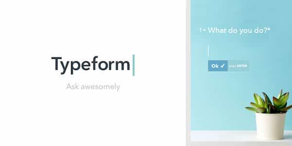 Typeform, herramienta de Growth Hacking