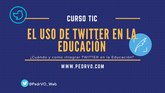 Twitter en la Educación