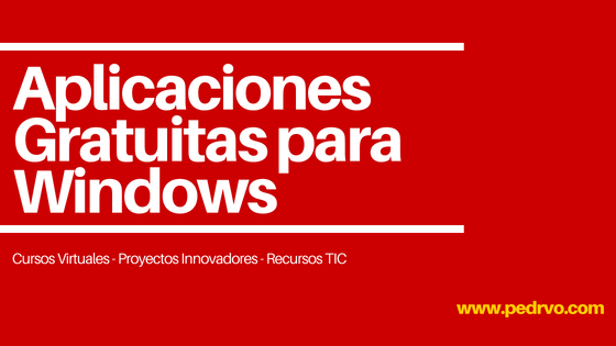 Aplicaciones Gratuitas para Windows