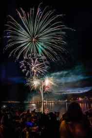 Fireworks at Galeton, PA