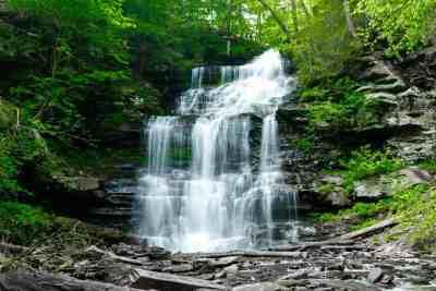 Ganoga Falls in Ricketts Glen State Park